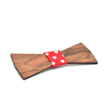 BOW TIE - Walnut  Elegant - Woodnectar.com (woodnectar, wood, wooden box, cookie stamp, engraving)