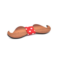 BOW TIE - Plum mustache - Woodnectar.com (woodnectar, wood, wooden box, cookie stamp, engraving)