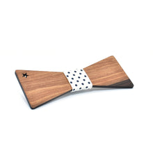 BOW TIE - Walnut Star - Woodnectar.com (woodnectar, wood, wooden box, cookie stamp, engraving)