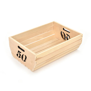 Wooden box - Fifty (50) - Woodnectar.com (woodnectar, wood, wooden box, cookie stamp, engraving)