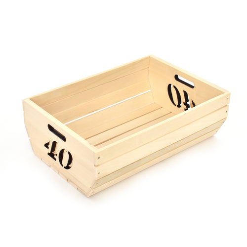 Wooden box - Forty (40) - Woodnectar.com (woodnectar, wood, wooden box, cookie stamp, engraving)