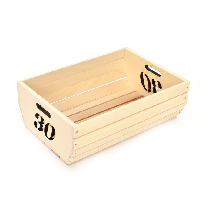Wooden box - Thirty (30) - Woodnectar.com (woodnectar, wood, wooden box, cookie stamp, engraving)