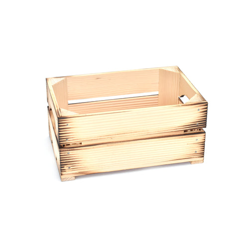 Wooden box - Robust Burned Small - Woodnectar.com (woodnectar, wood, wooden box, cookie stamp, engraving)