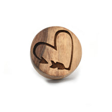 Cookie stamp - Arrow (premium) - Woodnectar.com (woodnectar, wood, wooden box, cookie stamp, engraving)
