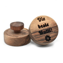 Cookie stamp - Die beste Mutti! (premium) - Woodnectar.com (woodnectar, wood, wooden box, cookie stamp, engraving)