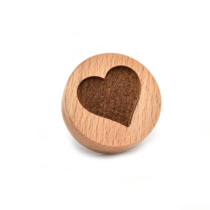 Cookie stamp - Heart - Woodnectar.com (woodnectar, wood, wooden box, cookie stamp, engraving)