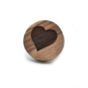 Cookie stamp - Heart (premium) - Woodnectar.com (woodnectar, wood, wooden box, cookie stamp, engraving)
