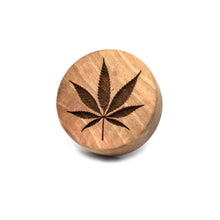 Cookie stamp - Sativa (premium) - Woodnectar.com (woodnectar, wood, wooden box, cookie stamp, engraving)