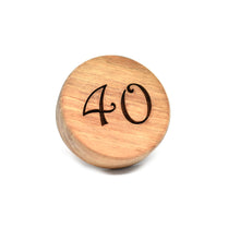 Cookie stamp - Number (premium) - Woodnectar.com (woodnectar, wood, wooden box, cookie stamp, engraving)