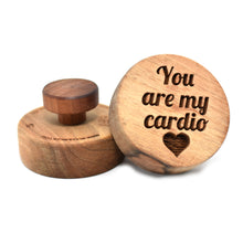 Cookie stamp - You are my cardio (premium) - Woodnectar.com (woodnectar, wood, wooden box, cookie stamp, engraving)