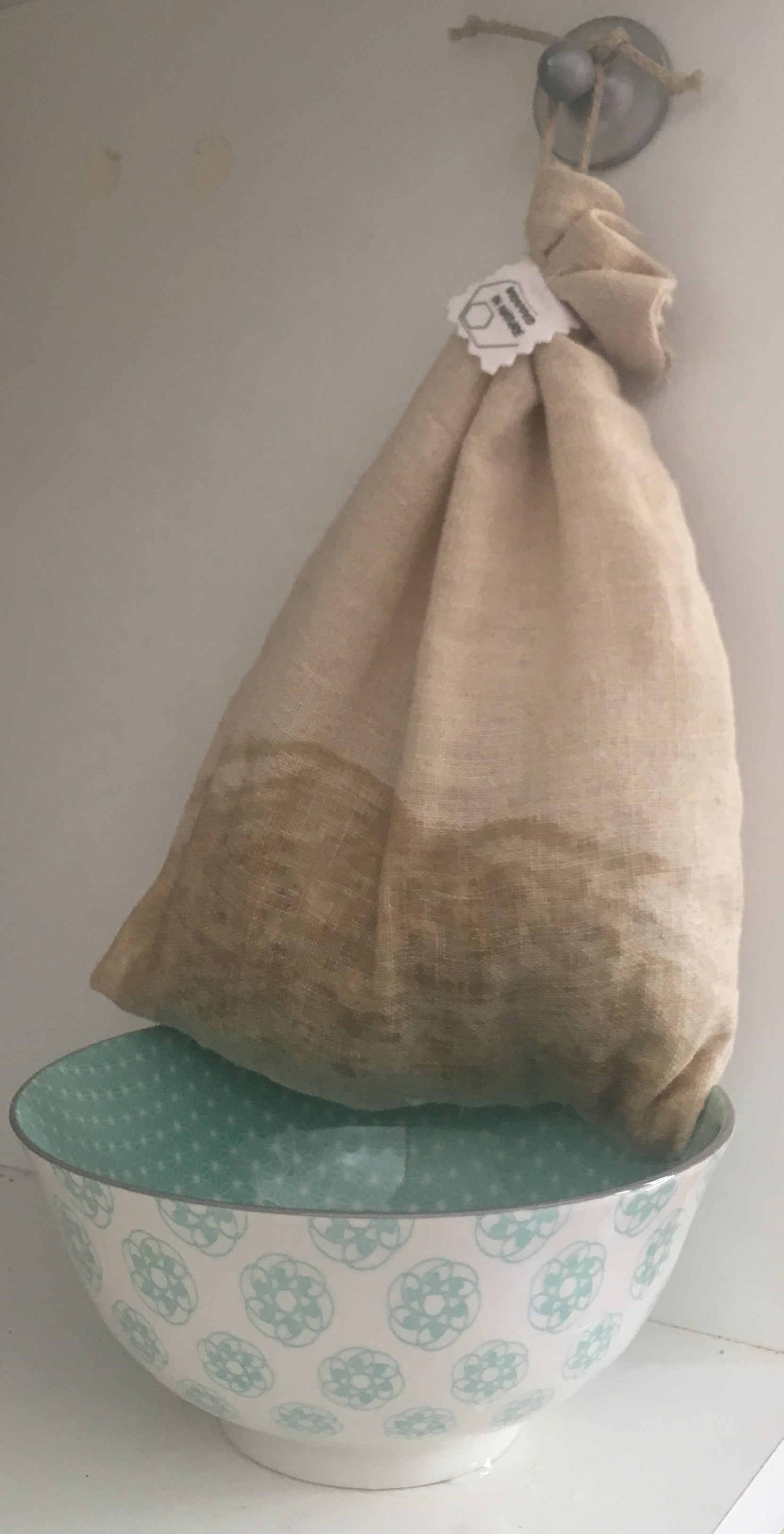 Hemp Bag for Sprouting or buying Unpacked