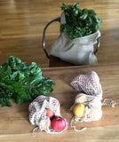 Knitted HEMP Shopper