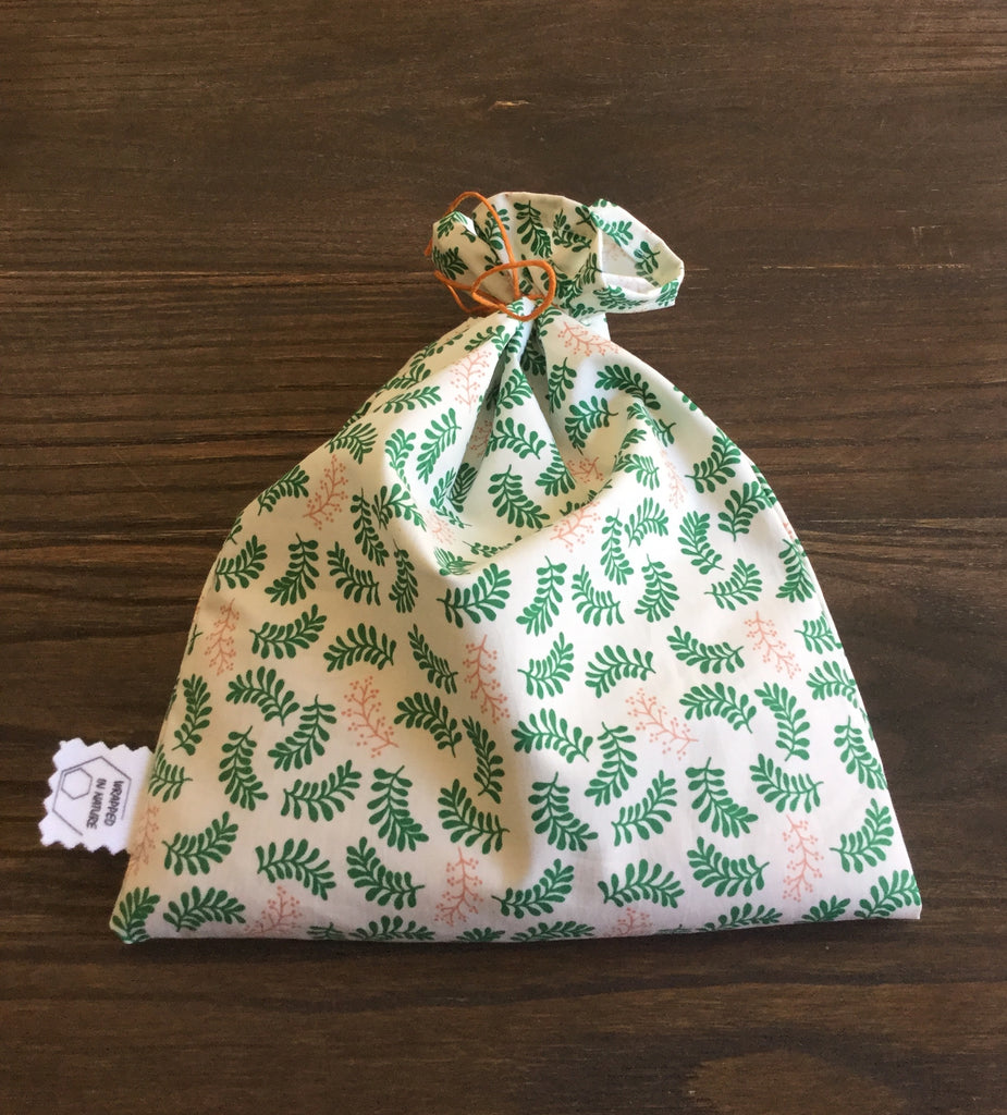 Produce Bags, Vintage GOTS Organic Cotton Fabric