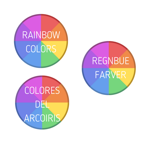RAINBOW COLORS Meditation Story kit for Children - FREE