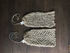 DIY Knitting Kit Hemp Produce Sacks
