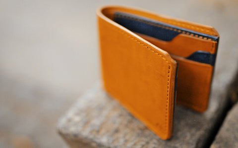 BIOSON :: Leather Long Wallet ::