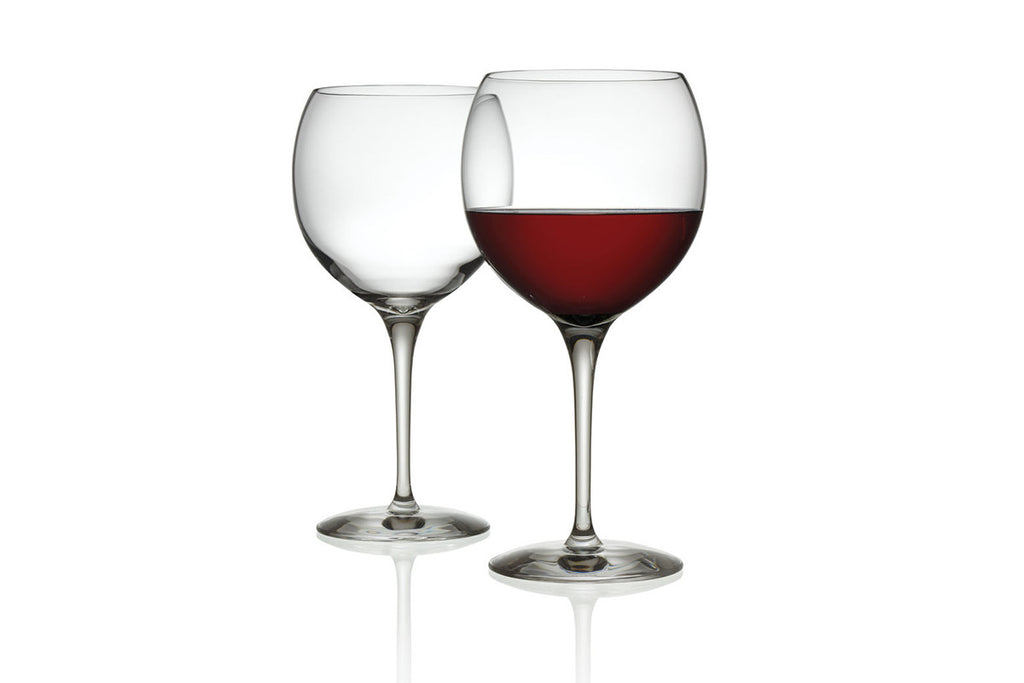 MAMI XL Set of 2 Red Wine Glasses, Stefano Giovannoni, Bibliotek Design Store