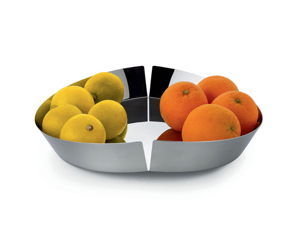 Broken Bowl, Fruit Bowl - Steel, Maximilian Schmahl, Bibliotek Design Store