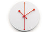 Dotty Wall Clock, Super White, Abi Alice, Bibliotek Design Store