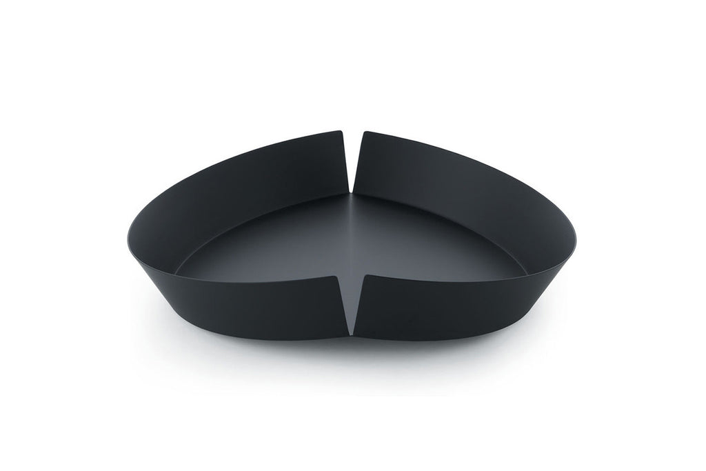 Broken Bowl, Fruit Bowl - Black, Maximilian Schmahl, Bibliotek Design Store