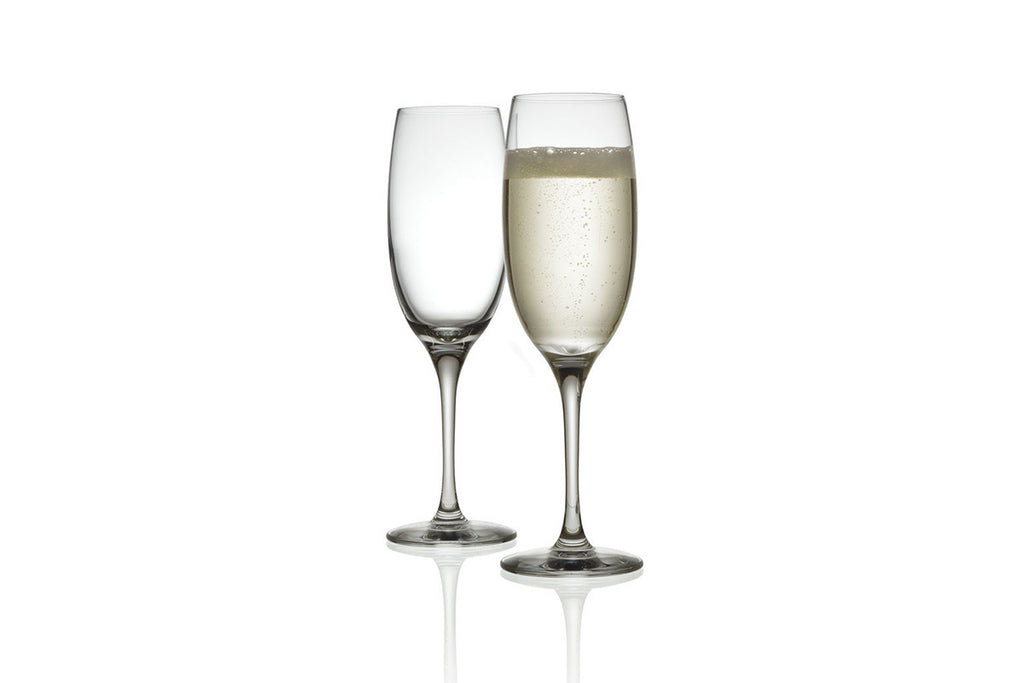 MAMI XL Set of 2 Champagne Flutes by Alessi, Stefano Giovannoni, Bibliotek Design Store