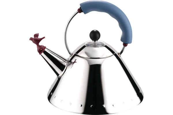 Alessi 9093 Kettle, Light Blue | Kitchen Accessories | Bibliotek