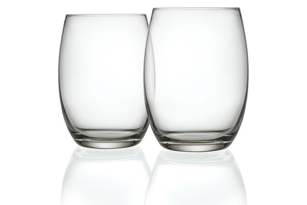 MAMI XL Set of 2 Long Drink Glasses, Stefano Giovannoni, Bibliotek Design Store