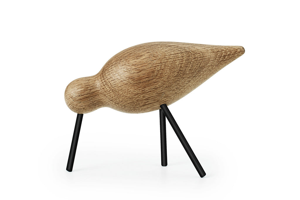 Normann Copenhagen Shorebird Medium Black | Home Decor | Bibliotek