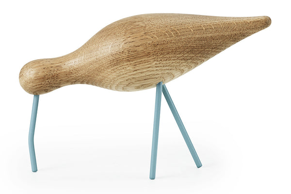 Normann Copenhagen Shorebird Large, Sea Blue | Home Decor| Bibliotek