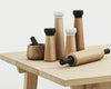 Craft Salt Mill, Oak & White Marble, Simon Legald, Bibliotek Design Store