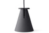 Menu Bollard Lamp, Carbon | Lighting & Lamps | Bibliotek Design Store