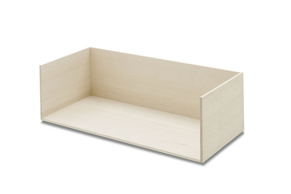 Skagerak Vivlio Shelf Ash Large | Modular Storage Furniture | Bibliotek