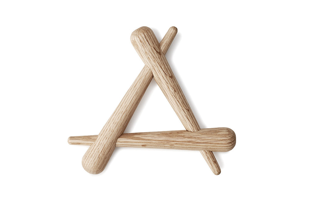 Normann Copenhagen Timber Trivet | Tableware | Bibliotek Design Store