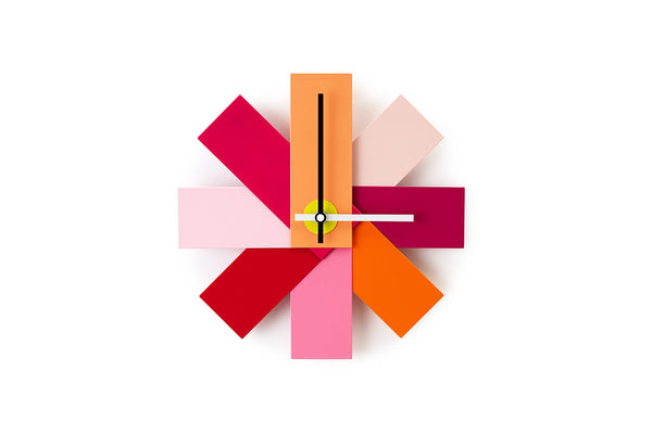 Normann Copenhagen Watch Me Wall Clock, Pink, Bibliotek Design Store