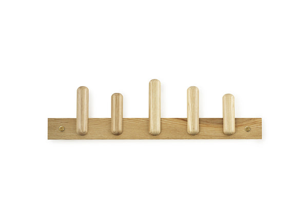 Play Coat Rack, Oak, Gridy, Bibliotek Design Store