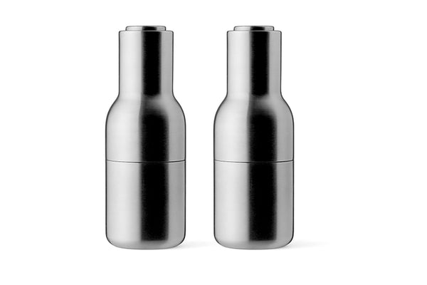 MENU Bottle Grinder Brushed Stainless Steel | Tableware & Kitchen Accessories | Bibliotek