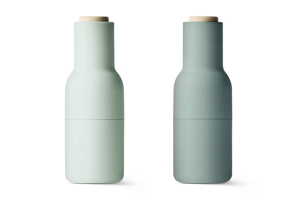Bottle Grinder, Moss Greens, 2-pack, Norm Architects, Bibliotek Design Store
