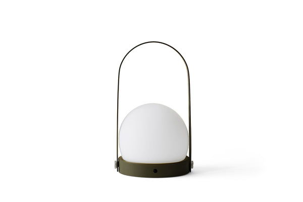 MENU Carrie LED Lamp Olive | Desk & Table Lamps Online | Bibliotek