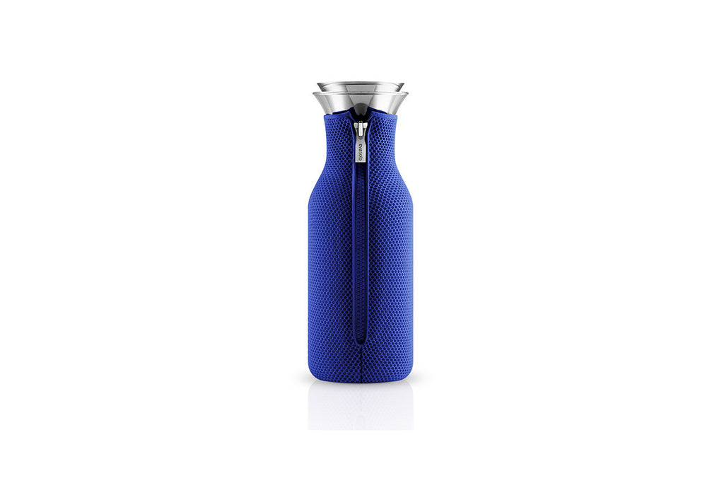 Eva Solo Fridge Carafe 3D Electric Blue | Jugs and Carafes | Bibliotek