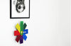 Watch Me Wall Clock, Multi, Rasmus Gottliebsen | Buy Online | Bibliotek Design Store