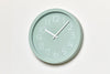 Lemnos Chalk Wall Clock, Green Mood | Wall Clocks Online | Bibliotek Design