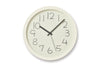Lemnos Chalk Wall Clock, White | Wall Clocks Online | Bibliotek Design