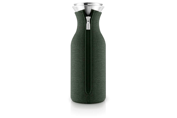 Eva Solo Fridge Carafe Woven Forest Green |Jugs and Carafes |Bibliotek