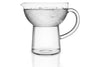 Eva Solo Glass Jug 1 litre with water | Jugs, Carafes & Glassware | Bibliotek Singapore
