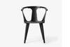 &Tradition In Between Chair SK1 Black Stained Ash | Designer Chairs & Furniture | Bibliotek