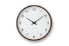 Lemnos Campagne Wall Clock Black | Wall Clocks Online | Bibliotek