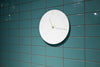 Carved II Wall Clock, White Lifestyle | Wall Clocks Online | Bibliotek Furniture