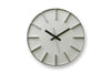 Lemnos Edge Wall Clock Aluminum | Wall Clocks Online | Bibliotek