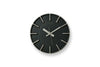 Lemnos Edge Wall Clock Black | Wall Clocks Online | Bibliotek Design