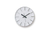 Lemnos Edge Wall Clock White | Wall Clocks Online | Bibliotek Design